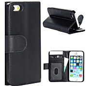 Magic Spider® Flip Open PU Leather Wallet Case Cover Stand with Screen Protector for iPhone 5/5s