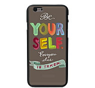 Be Yourself Style Design PC Hard Case for iPhone 5C