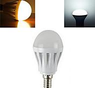 7W E14 LED Kugelbirnen SMD 2835 450-600 lm Warmes Weiß / Kühles Weiß AC 220-240 V 1 Stück