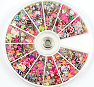2000PCS Nail Art Rhinestones Pearl Flower Glitter Jewelry for Nail Decorations  False Nails  Design