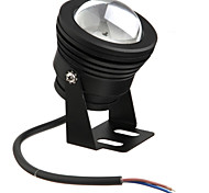Black Waterproof 10W 900Lm 2700-6300K Warm/Cold White light(AC85-265V)