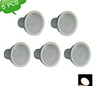 5PCS FRANLITE™ GU10 9W(=Halogen 75W)  3000K Warm White CRI>80 15x3022SMD LED 810LM LED Spot Light Bulb (AC 220-240V)