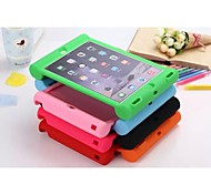 BEBONCOOL™ iPad Air 2 compatible Shock-Proof Mixed Color Silicone Back Cases