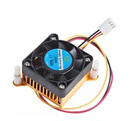 4CM Chassis Graphics Card Cooling Fan With Heat Sink Radiator 12V