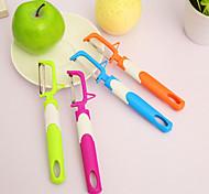 Creative Candy Color Large Fruit Peeler(Random Color)