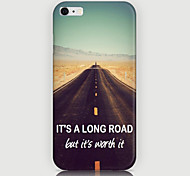 Highway Pattern Back Case for iPhone 6