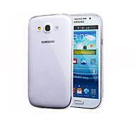 contraportada del silicón transparente para Samsung Galaxy Ace 4 g313h