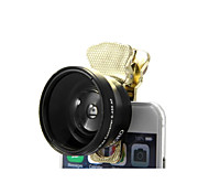 2 in 1 37mm Universal Camera Lens Macro and 0.45X Wide Angle for Phone