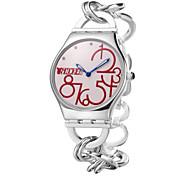 popular, exibição de número grande rodada cadeia mão caixa de aço inoxidável venda quente relógios dc-51014