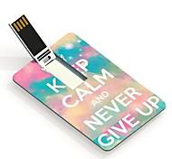 4gb a mantener la calma y nunca te rindas diseño usb tarjeta de unidad de memoria flash