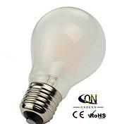 Lámparas LED de Filamento Regulable ONDENN A E26/E27 8 W 8 COB 800 LM Blanco Cálido AC 100-240/AC 110-130 V 1 pieza