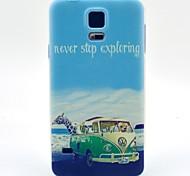 auto giraffe patroon TPU zachte hoes voor Samsung Galaxy S3 / s3 mini / S4 / S4 mini / S5 / s5 mini
