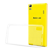 EXCO Lightweight Ultra thin Transparent Clear Soft TPU Cover Case for Lenovo lemon K3 Note
