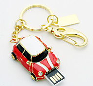 8gb unidade de metal estilo do carro usb do flash (cores sortidas)