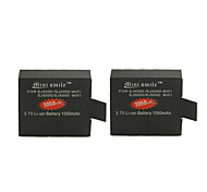 Mini Smile™ 1050mAh Li-ion Camera Battery Pack for SJ5000 / SJ5000 Wi-Fi / SJ4000 Wi-Fi / SJ4000 (2pcs)