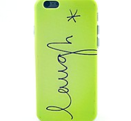 Green At The End Of The Letter Pattern TPU Soft Case for iPhone 5C