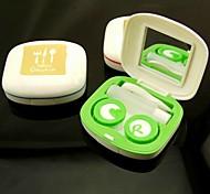 Fashionable Teatime Stylish Cantact Lens Case (Random Color)