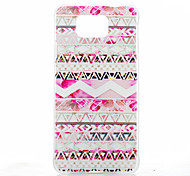 Pink Folk Style Pattern PC Hard Back Cover Case for Samsung Galaxy Alpha G850F