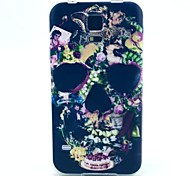 For Samsung Galaxy Case Pattern Case Back Cover Case Sexy Lady TPU Samsung S5 Mini