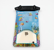 Universal 6 Inch Cartoon PVC Waterproof Phone Case 10 Meters Underwater Phone Bag Pouch Dry No.002 (All Models)