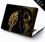 Cool Skull Design Full-Body Protective Plastic Case for 11-inch/13-inch New MacBook Air