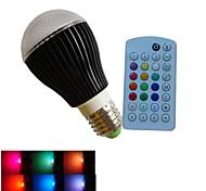 1pcs SchöneColors® E27/B22/GU10 3X 3W LED Dimmable/Music-Controlled/Remote-Controlled/Decorative Bulbs AC85-265V