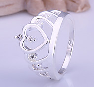 Fashion Simple Women's White Diamond Rings(1 Pc) Promis rings for couples