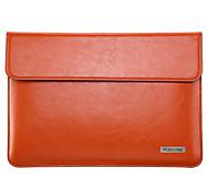 MOENCASE Solid Color Genuine Leather Full Body Case for MacBook 12''