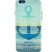 Anchor Pattern TPU Material Phone Case for iPhone 5C