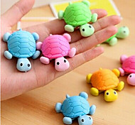Tortoise Shaped Removable Eraser(Random Color)