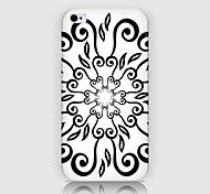 Retro Pattern Back Case for iPhone4/4S