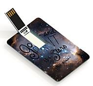 16gb salir tarjeta de diseño de una unidad flash USB