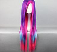 cosplay nouvelle perruque de longs cheveux raides