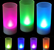 Multi-color Romantic Candle Pattern Night Light