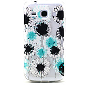 Samsung Core Plus G3500 Compaticle Black And Blue Dandelion Pattern TPU Soft Back Cover Case