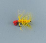 Mosche 0.20g g / <1/18 Oncia mm pollice 12pcs pc Pesca a mosca , Nero