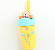 Fly By Fly- Cute Baby's Pure Cotton Bear Feeding Bottle Thermal Insulation Bag