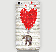 Love Elephant Pattern Back Case for iPhone 6