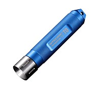 NITECORE T0 12 Lumens HAIII Nicha LED Mini Keychain Flashlight Torch Light (1XAAA, Black Blue Purple)
