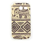 tailand Elefantmalerei tpu Fall für Samsung-Galaxie-Tasche 2 G110