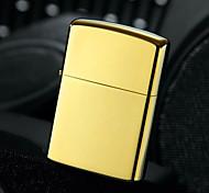 Luxurious Gold Bright Chrome Plated Kerosene Lighter