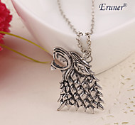 Eruner®Hot Sale !!! Fashion Game of Thrones Wolf Head Necklace