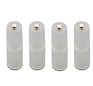 AAA to AA Battery Conversion Barrel (4pcs)