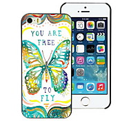 Free to Fly Design PC Hard Case for iPhone I4