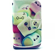 Cotton Candy Pattern Full Body Case with Stand for Samsung Young 2 G130 G130H