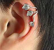 Woman's Leaf Vintage/Party/Work/Casual Alloy Clip Earrings