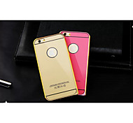 Special Design Solid Color Metallic for iPhone 6 (Assorted Colors)