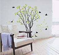 removível grande adesivo pvc parede árvore