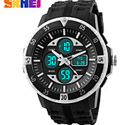 SKMEI® Men's Double Time Sporty Watch Calendar Chronograph Alarm Cool Watch Unique Watch