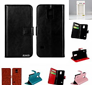 Kemile Luxury Flip Leather Wallet Credit Card Bag Holder Cover For amung Galaxy 5 Mini